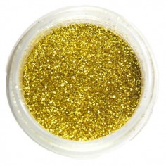Glitter, gold