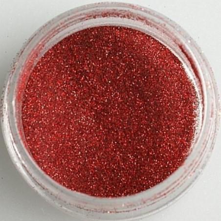Glitter, claret red