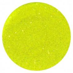 Glitter, neon yellow