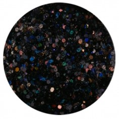 Confetti with Glitter Dust, black