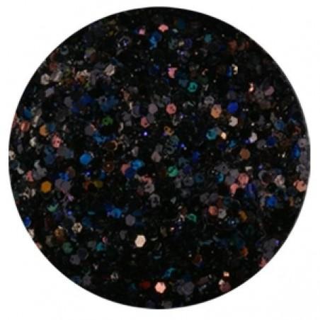 Confetti with Glitter Dust, black