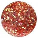 Glitter-hologrammid, helepunane, GH4