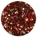 Glitter-hologrammid, tumepunane, GH5