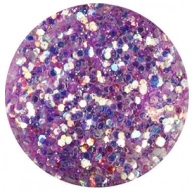 Glitter-hologrammid, helelilla, GH6
