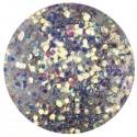 Glitter-hologrammid, hõbehall, GH7